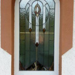 realizace vitráže - okno RD