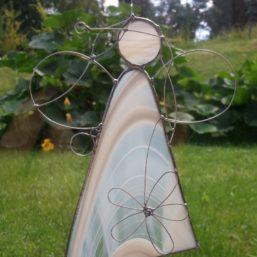 vitráž Andělka