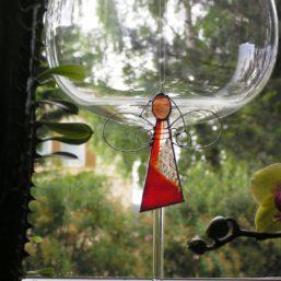 vitráž anděl