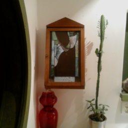 vitráž skříňka