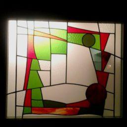 vitráž dveře