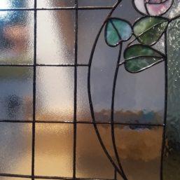 vitráž do interiérových dveří